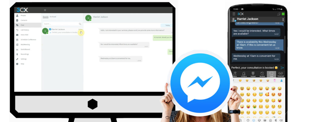 3CX Facebook Integration